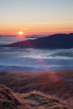 Zirbitzkogel Sunrise.
