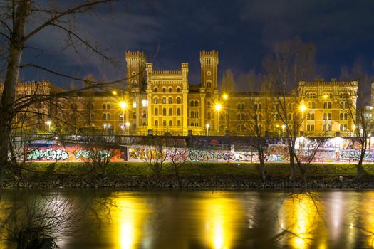 Nachts am Donaukanal
