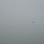 Das Boot im Nebel