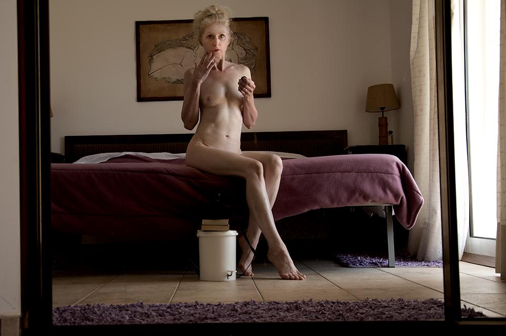 myself nude