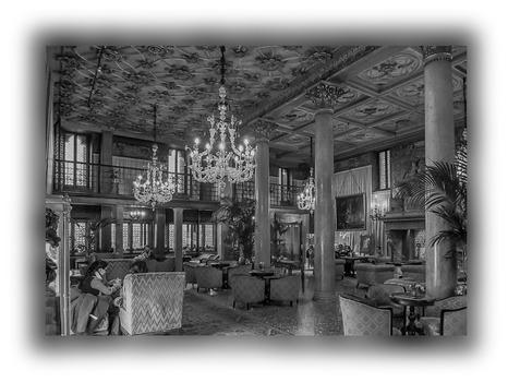Hotellobby in Venedig