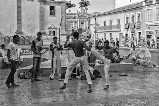 Capoeira , ein Kampftanz