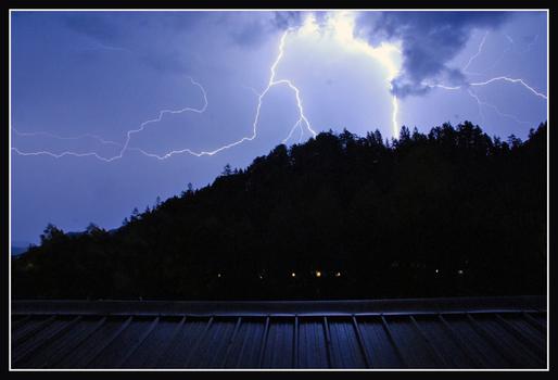 Gewitter in Lunz am See