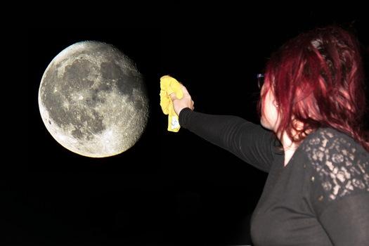 Mondputzen, Mondsüchtig.