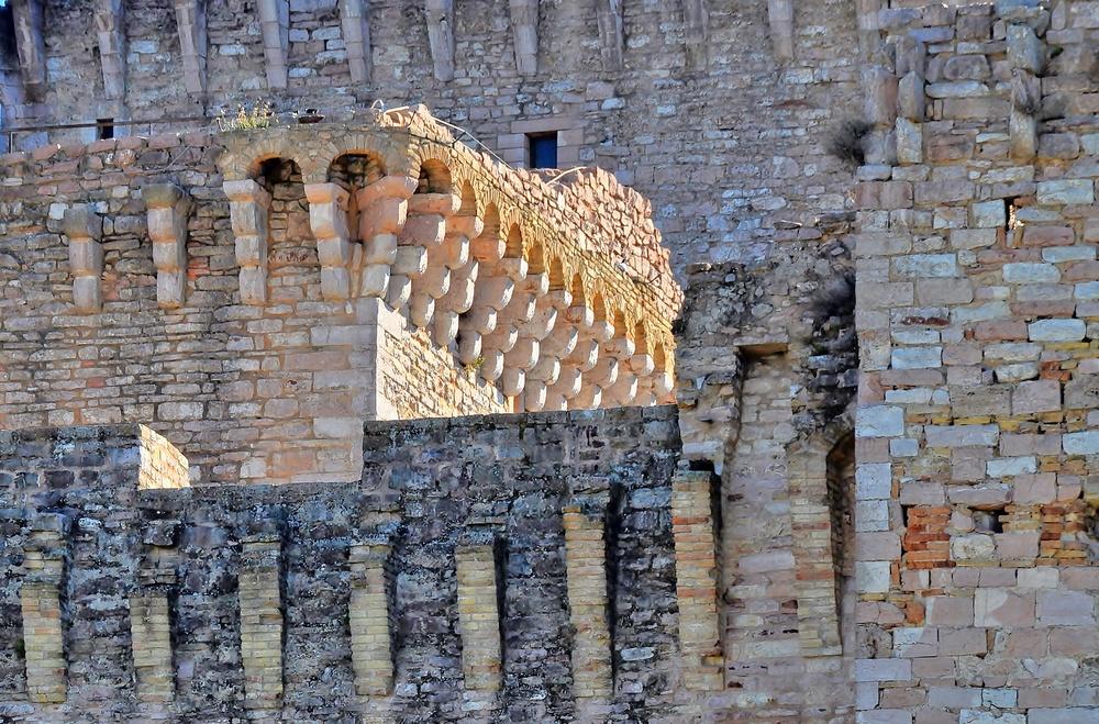 Rocca Maggiore - Assisi / Umbrien / Italien (2)