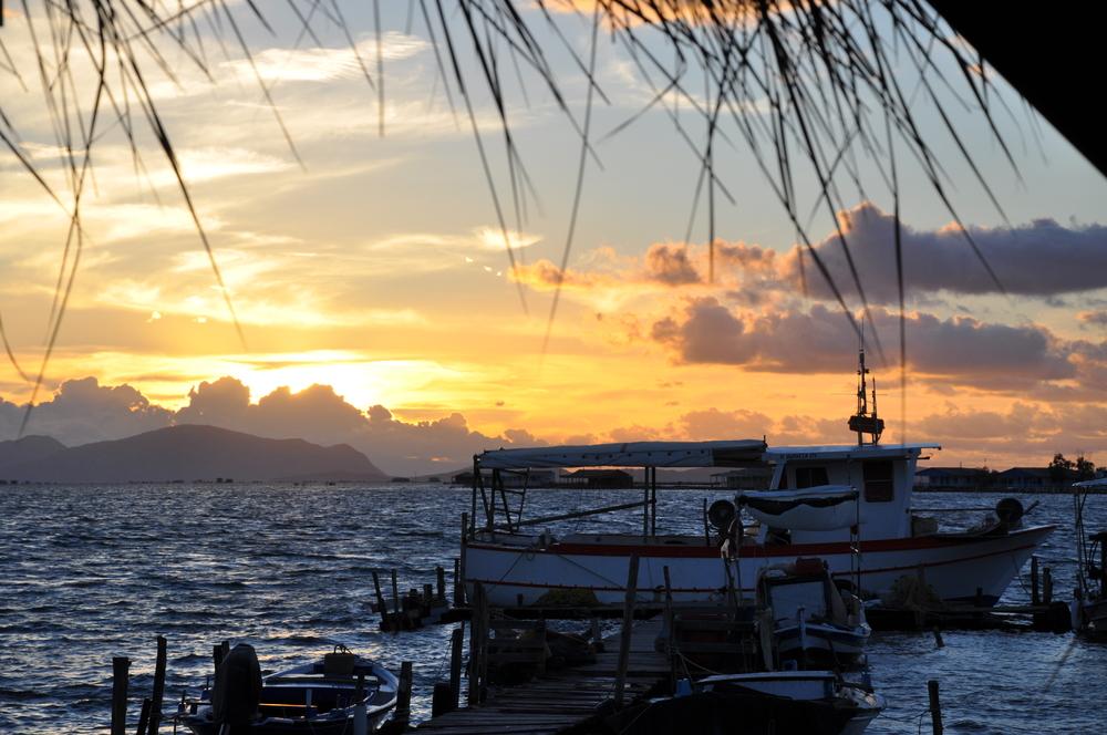 Lagune von Mesolongi  Griechisches Festland