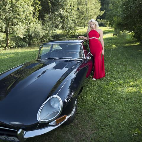 Julia mit Jaguar_002