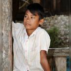 Junge aus Burma
