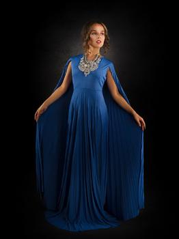 Daria in blau