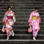 Kimono-Mädchen