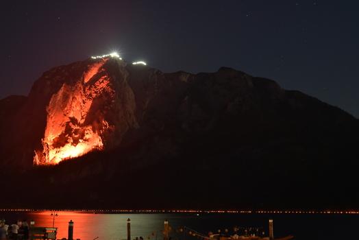 Berge in Flammen Altaussee