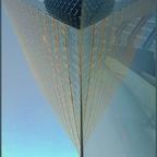 Uniqa-Tower-Spiegelung