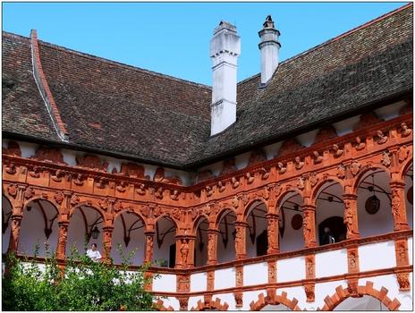 Schallaburg, Innenhof