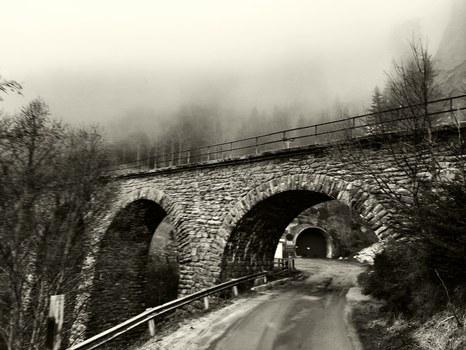 Viadukte der alten Tauern Süd Rampe