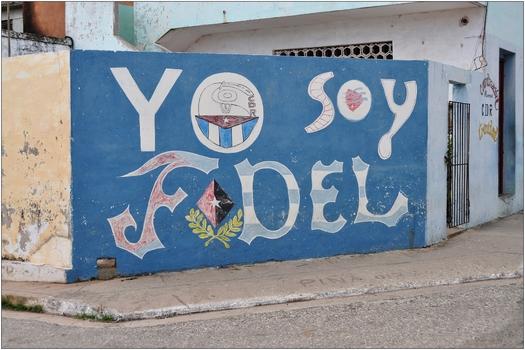 Kuba, allgegenwärtiger Fidel