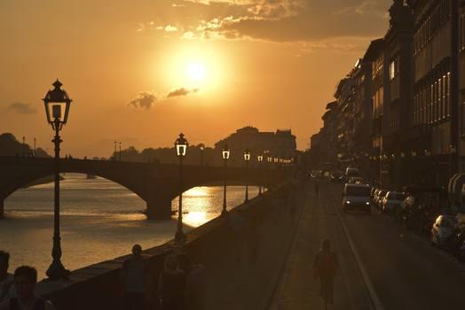 Abendstimmung in Florenz