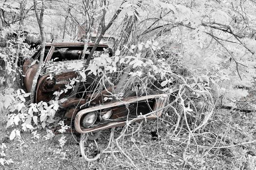 Oldsmobile , zerbrochener Traum aus Chrom , Lack und Leder , Atlanta 2019