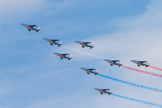 PATROUILLE DE FRANCE (französische Luftstreitkräfte)