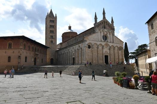 Massa Maritima, Piazza Garibaldi mit Kathedrale di San Cerbone