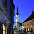 Bad Radkersburg zur blauen Stunde