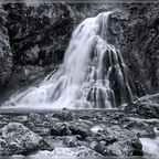 Gollinger Wasserfall sw