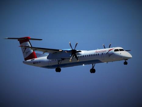 Landung Fokker 50