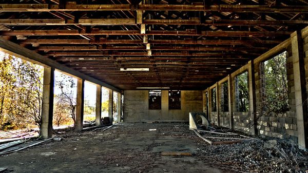 Lost Place verlassene Firma