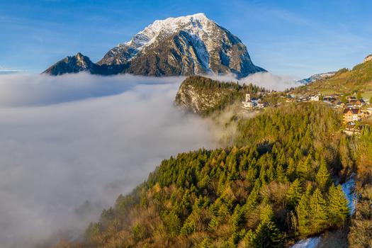 Pürgg - Kripperl der Steiermark vor dem Grimming