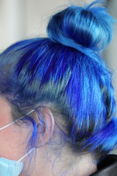 Blue Look