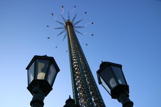 Prater Turm mit seinen 117m