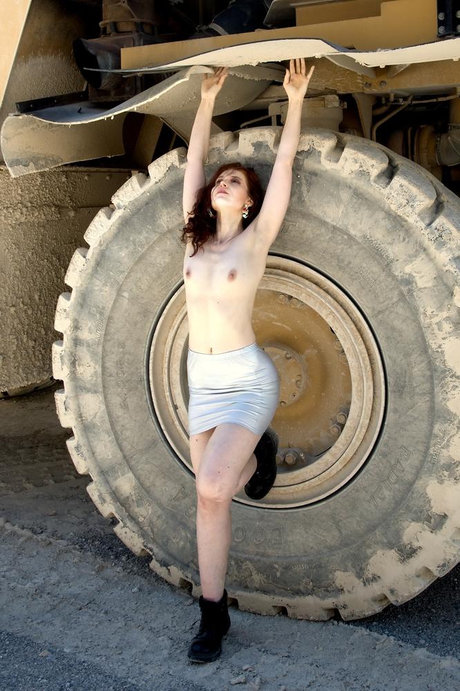 Betty im Steinbruch