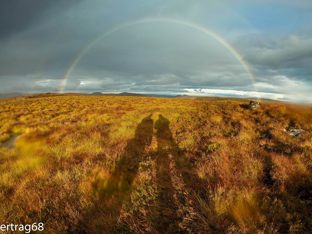 Scottish Highlands - Rainbow