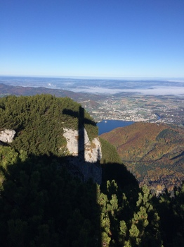 Gipfelkreuz Schatten