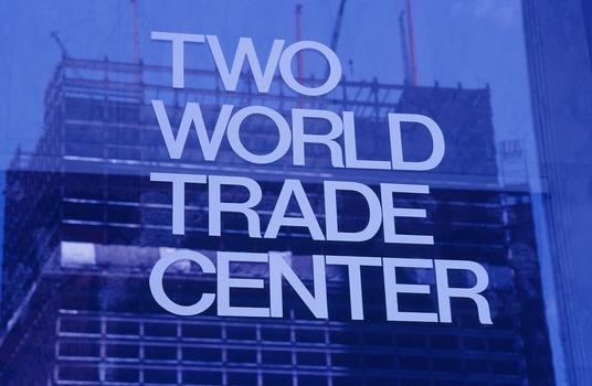 WORLD TRADE CENTER 9/11 NOCH IM BAU - ZEITDOKUMENT