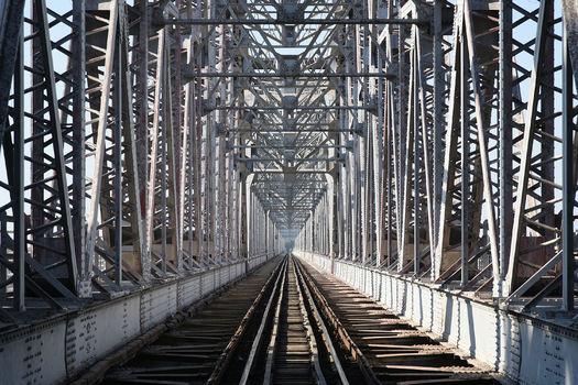 britische Eisenbahnbrücke Myanmar