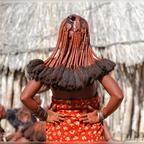 Himba Haartracht