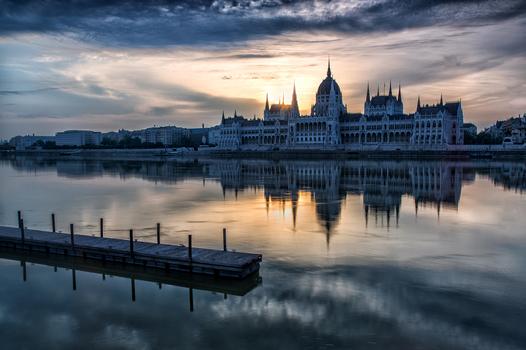 Morgenstimmung aus Budapest