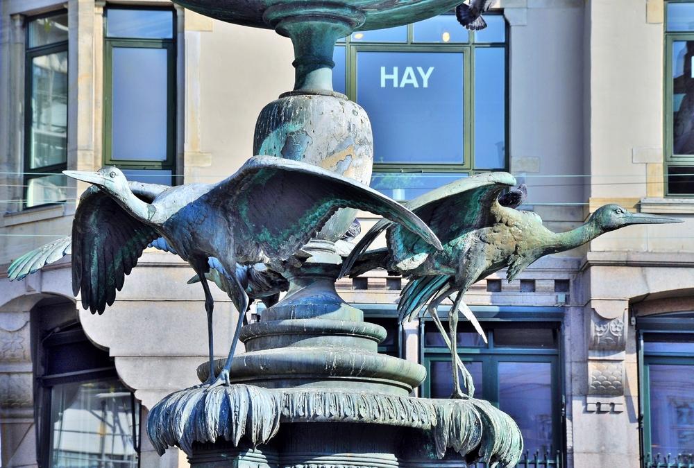 Storchenbrunnen / Kopenhagen (HAY ;-))