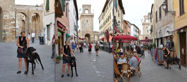 Piombino, Corso Vittorio Emanuele ll