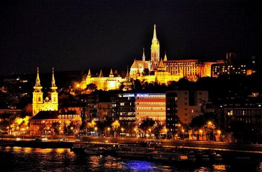 Budapest bei Nacht (4)