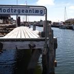 Hafenanlage von Bogense, Insel Fünen, Dänemark