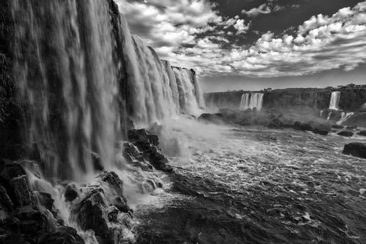 Am Iguacu Wasserfall