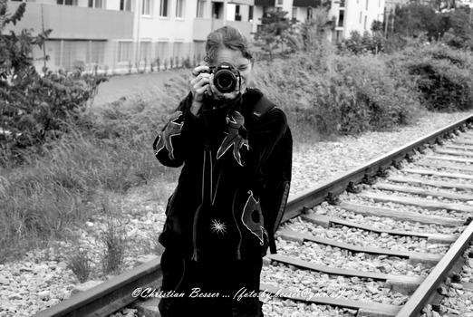 Portrait einer Fotografin