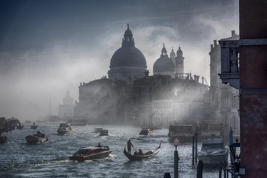 Morgenstimmung am Canal Grande - Santa Maria della Salute