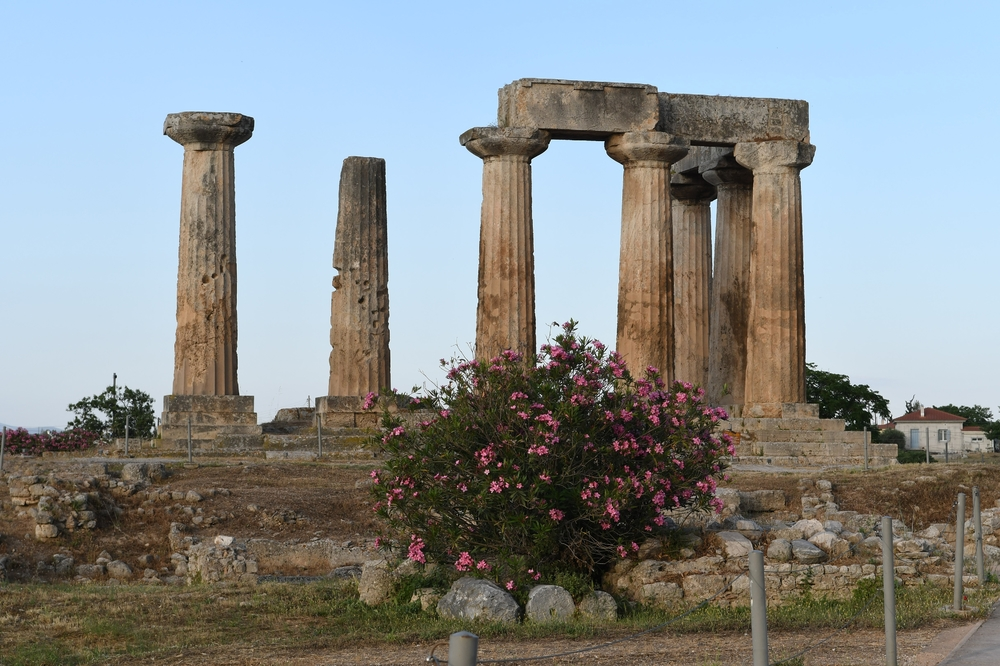Tempel des Apollo (Alt Korinth, 6. Jh. v. Chr.)