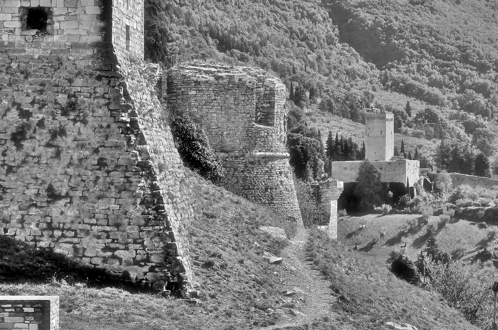 Rocca Minore - Assisi / Umbrien / Italien