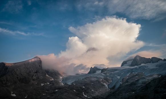Am Dachstein Gletscher