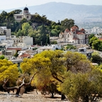 Observatorium u. Kirche Agia Marina / Athen