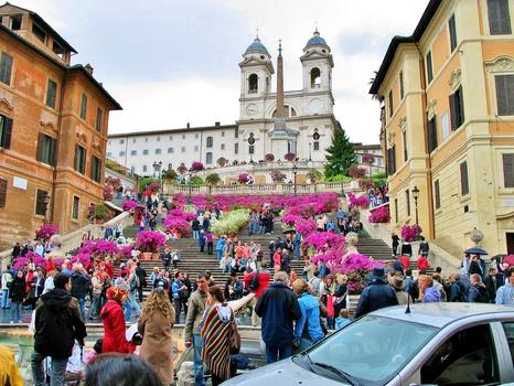 Spanische Treppe / Rom