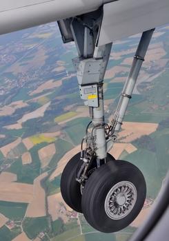 Landeanflug - einer De Havilland DHC-8